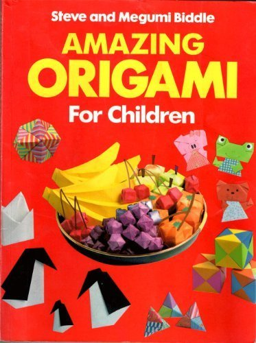 9780099661801: Amazing Origami for Children (Red Fox Activity Books)
