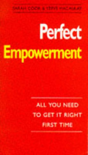 9780099669814: Perfect Empowerment (The perfect series)