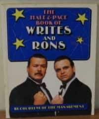 9780099677505: Hale and Pace Book of Writes and Rons