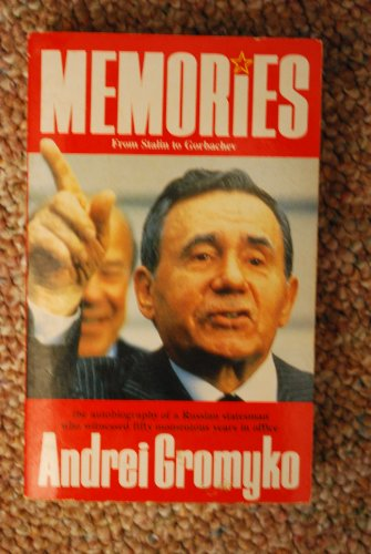 9780099686408: Memories: From Stalin to Gorbachev