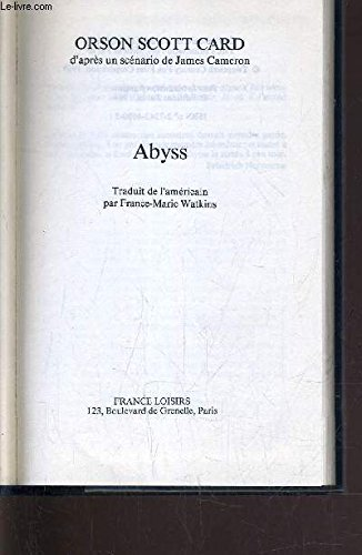 9780099690603: Abyss, The