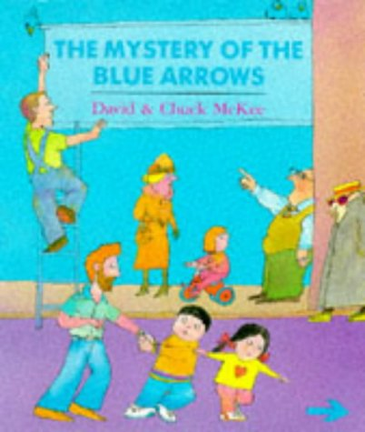 9780099739708: The Mystery of the Blue Arrows (Red Fox Picture Books)