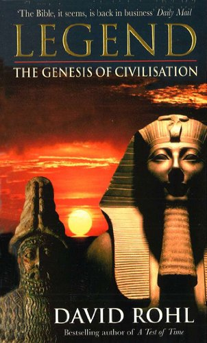 9780099799917: Legend: The Genesis of Civilisation: Vol.2 (A Test of Time)