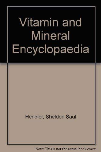 9780099814504: Vitamin and Mineral Encyclopaedia