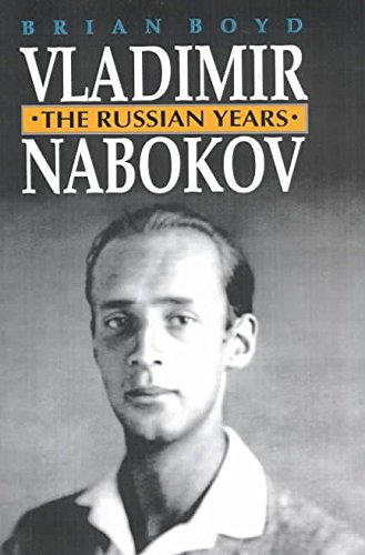 9780099862208: Vladimir Nabokov: The Russian Years v. 1