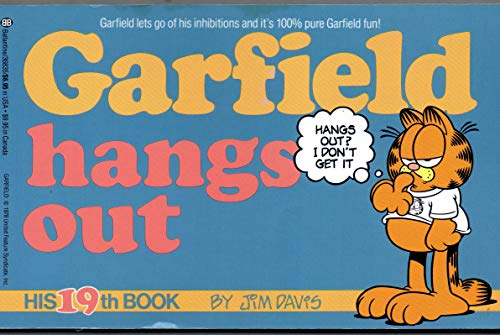 9780099867500: Garfield Hangs Out - His 19th Book