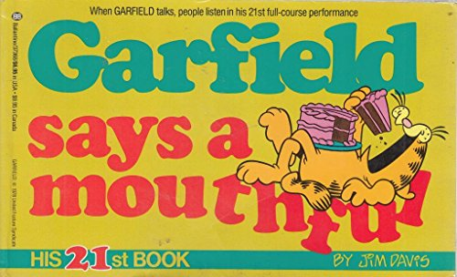 9780099867906: Garfield Says a Mouthful : His 21st Book
