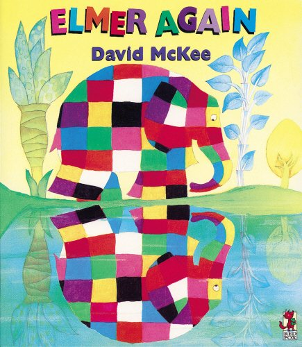 9780099917205: Elmer Again (Red Fox picture books)