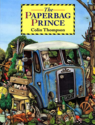 9780099933205: The Paperbag Prince (Red Fox Picture Books)