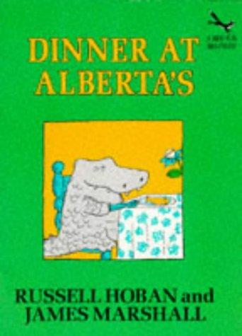 9780099976905: Dinner at Alberta's (Red Fox beginners)