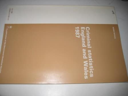 9780101049825: Criminal Statistics, England and Wales (Command Paper)