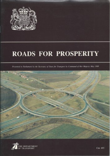 9780101069328: Roads for Prosperity (Command Paper)