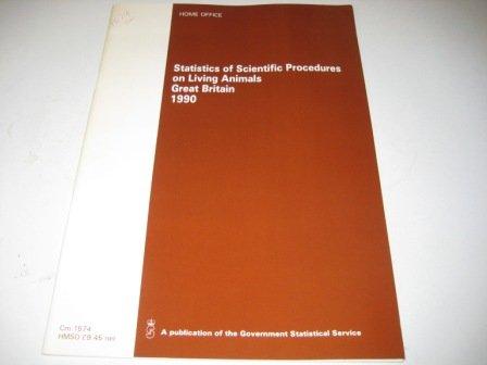 9780101157421: Statistics of Scientific Procedures on Living Animals (Command Paper)