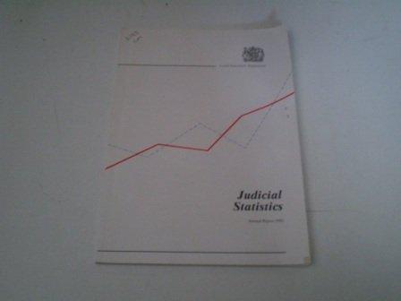 9780101226820: Judicial Statistics 1992: England and Wales (Command Paper)