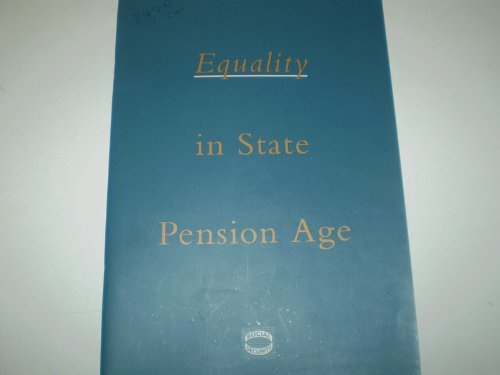 9780101242028: Equality in State Pension Age (Command Paper)