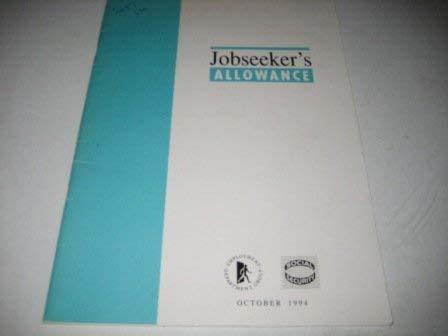 9780101268721: Job Seeker's Allowance (Command Paper)