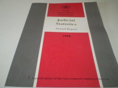 9780101371629: Judicial Statistics 1996: England and Wales (Command Paper)