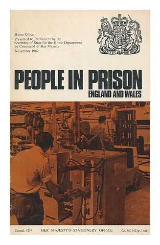 People in prison (England and Wales) presented: HOME OFFICE