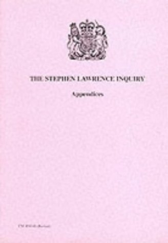 9780101426244: Stephen Lawrence Inquiry: Appendices (Command Paper 4262-II)