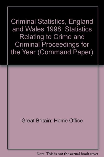 9780101464925: Criminal Statistics - England and Wales (Command Paper)