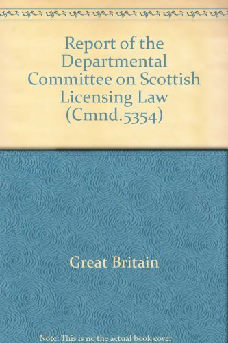 Report of the Departmental Committee on Scottish: Great Britain