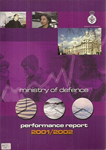 9780101566124: Ministry of Defence Performance Report (Command Paper)
