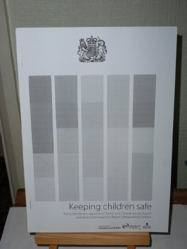 9780101586122: Keeping Children Safe: Gov't Response to the Victoria Climbie Inquiry (Command Paper, 5861)
