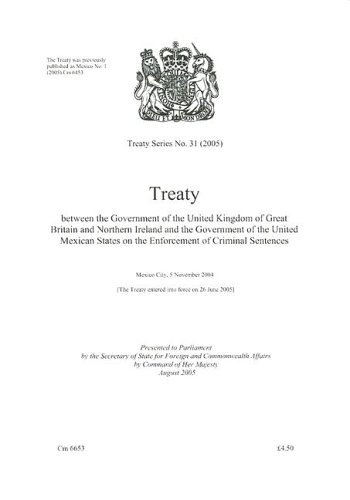 9780101665322: Treaty Series Great Britain