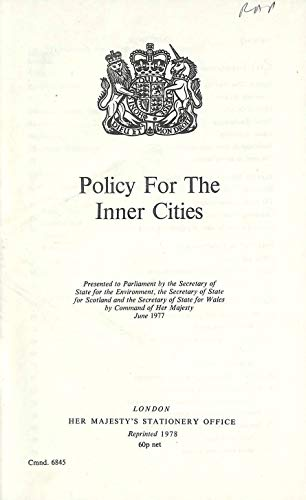 9780101684507: Policy for the Inner Cities (Command Paper)