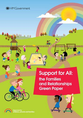 9780101778725: Support for All: The Families and Relationships Green Paper (Cm.)