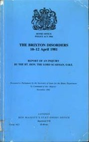 9780101842709: The Brixton Disorders, April 10-12, 1981: Inquiry Report. Chmn.Lord Scarman (Command Paper)