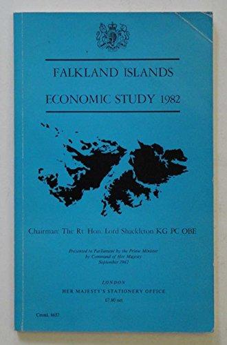 9780101865302: Falkland Islands Economic Study, 1982. Chmn.Lord Shackleton (Command 8653)