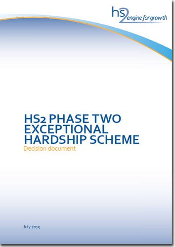 9780101868624: HS2 Phase Two Exceptional Hardship Scheme: Decision Document (Cm.)