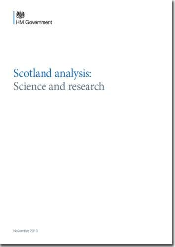 9780101872829: Scotland analysis: Science and Research (Cm.)