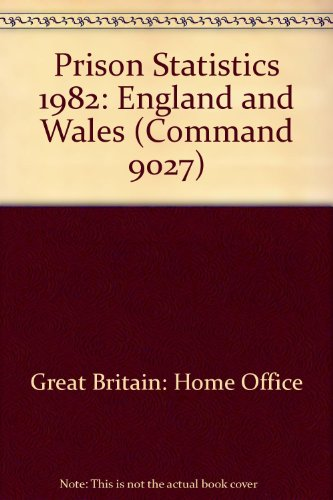 9780101902700: Prison Statistics: England and Wales (Command 9027)