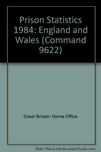 9780101962209: Prison Statistics: England and Wales (Command 9622)