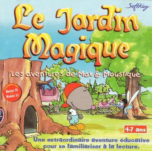 9780102418798: LE JARDIN MAGIQUE. Les aventures de Max et Moustique, CD-Rom