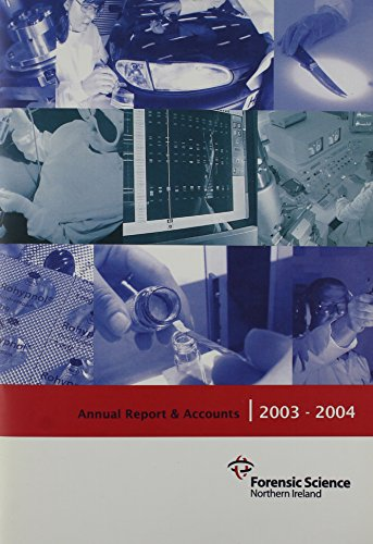9780102925548: Forensic Science Northern Ireland Ninth Annual Report and Accounts,1st April 2003-31st March 2004: House of Commons Papers 2003-04,853