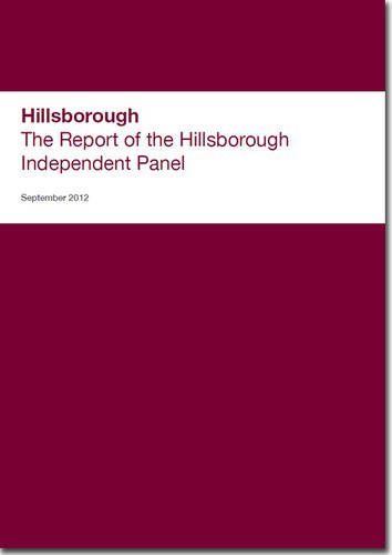 9780102980356: Hillsborough: The Report of the Hillsborough Independent Panel (House of Commons Papers)
