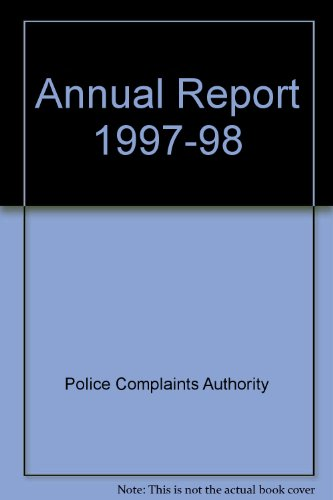 9780102980981: Annual Report 1997-98