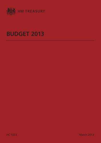9780102982275: Financial Statement and Budget Report: Budget 2013 (Budget Red Book: Financial Statement & Budget Report)