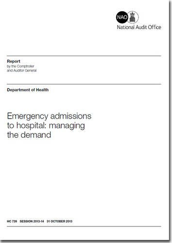 9780102986990: Emergency admissions to hospital: Managing the Demand, Department of Health (House of Commons Papers)