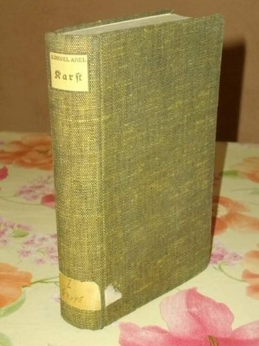 9780103384214: Karst - Ein Buch vom Isonzo -Milit�rgeschichte 1.Wk