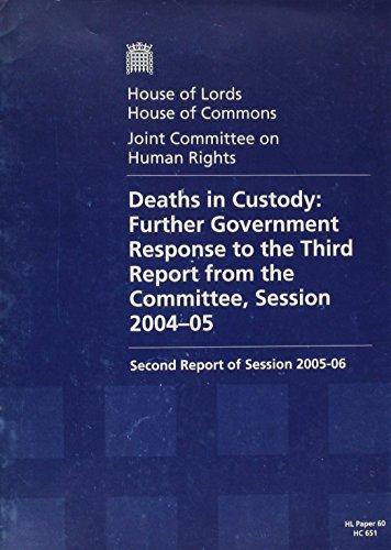 9780104007587: Deaths in Custody