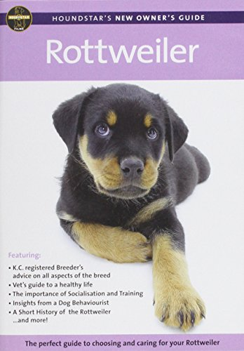 9780104270103: Rottweiler (Houndstar New Owners Guide)
