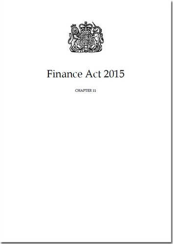 9780105400004: Finance Act 2015: Chapter 11