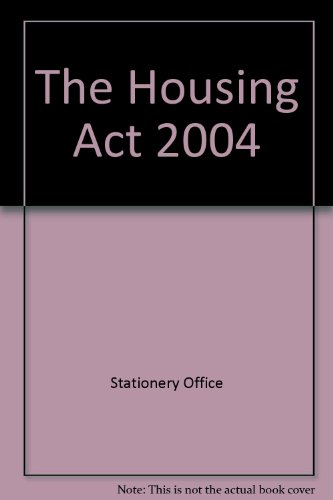 9780105434047: The Housing Act 2004