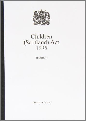 9780105436959: Children (Scotland) Act 1995