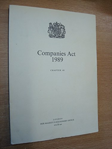Companies Act 1989 Chapter 40