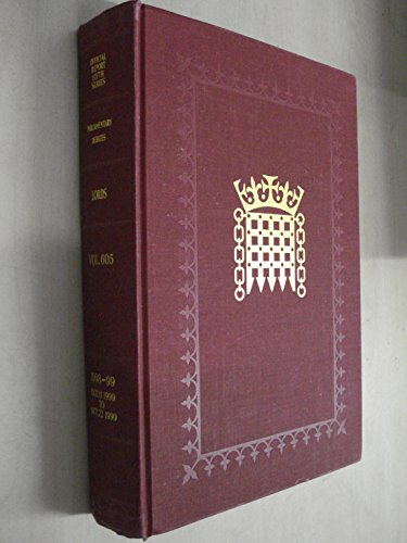 9780107806057: Parliamentary Debates, House of Lords